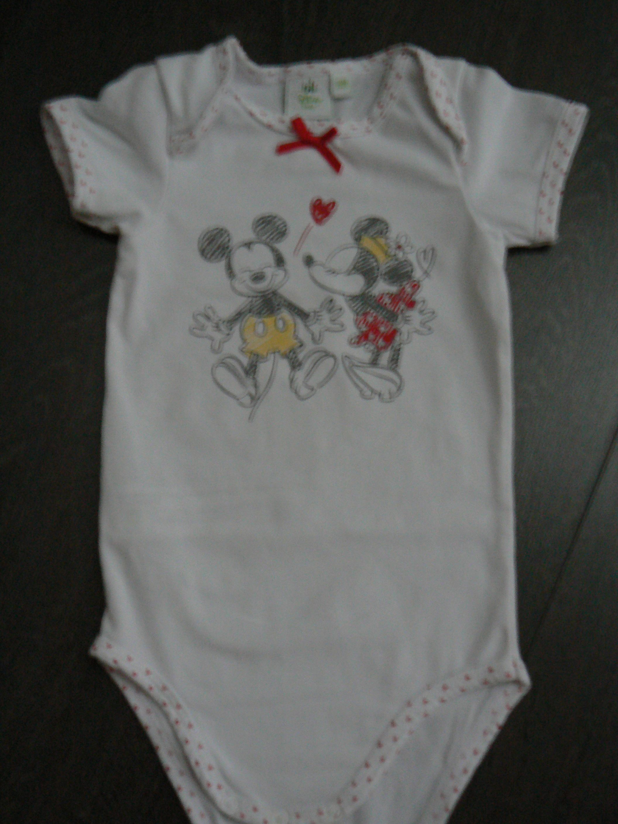 DISNEY Body manches courtes a7ab09546aa